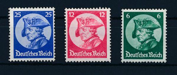 Deutsches Reich Mi.Nr. 479-81 ** postfrisch