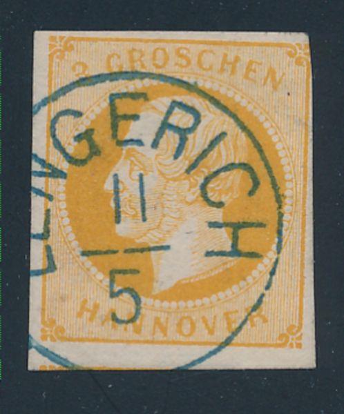 Hannover Mi.Nr.16 gestempelt