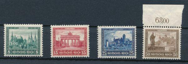 Deutsches Reich Mi.Nr. 450-53 ** postfrisch