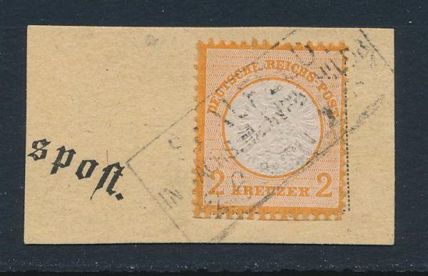 Deutsches Reich Mi.Nr.24 gestempelt Luxus FotoattBPP