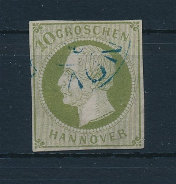 Hannover Mi.Nr.18 gestempelt Luxus Fotobefund BPP
