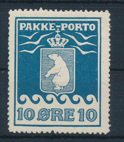Grönland Mi.Nr.3 * ungebraucht Luxus Fotoattest BPP