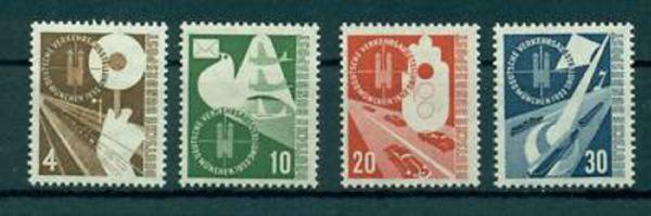 Bund Mi. Nr. 167-170 ** postfrisch