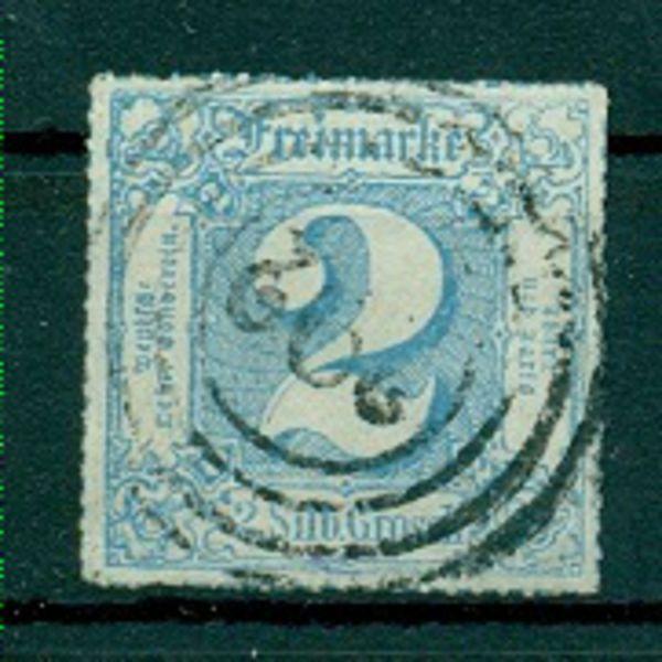 Thurn und Taxis Mi.Nr. 49 gestempelt Lux. Fotoattest