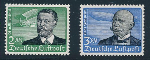 Deutsches Reich Mi.Nr.538-39 ** Lux Fotoattest BPP