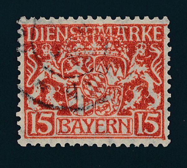 Bayern Dienst Mi.Nr.27x gestempelt Lux Fotobefund BPP