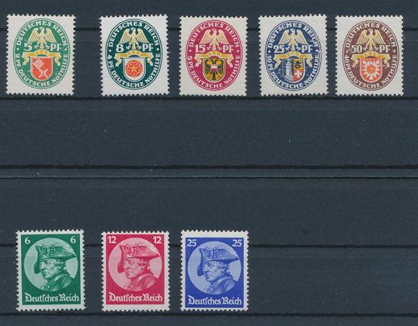 Deutsches Reich kl. Steckkartenposten ** + *