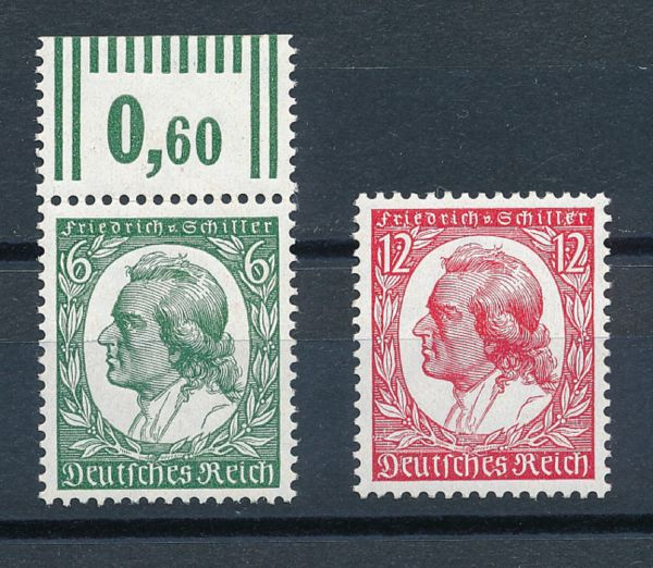Deutsches Reich Mi.Nr.554-55 ** postfrisch