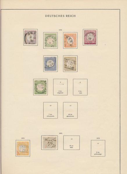 Deutsches Reich 1872-1945 Generalsammlung, meist o