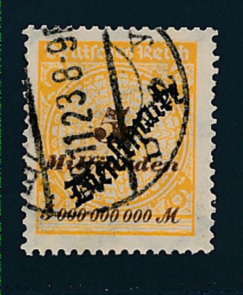 Deutsches Dienst Reich Mi.Nr.85 gestempelt geprüft