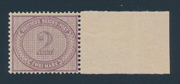 Deutsches Reich Mi.Nr.37a ND ** Luxus Fotoattest BPP