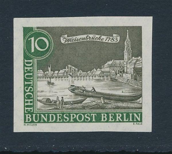 Berlin Mi.Nr.219 U ** postfrisch Luxus Fotoattest BPP