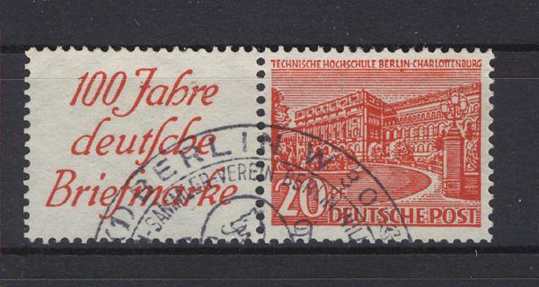 Berlin Zusammendruck W 13 gestempelt