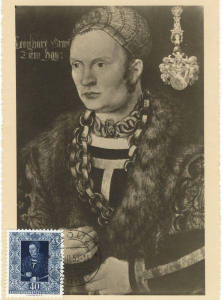 Liechtenstein Mi.Nr.314 Alte Maximumkarte