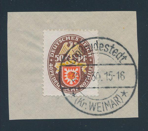 Deutsches Reich Mi.Nr.434 I gestempelt Lux Fotobef.BPP