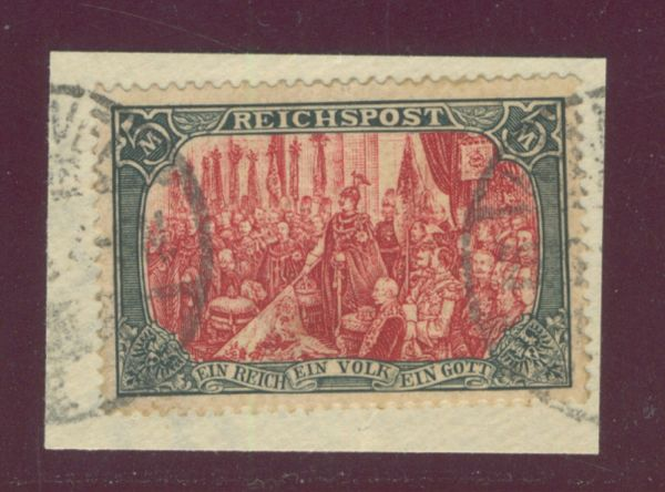 Deutsches Reich Mi.Nr.66 II gestempelt Fotoattest BPP