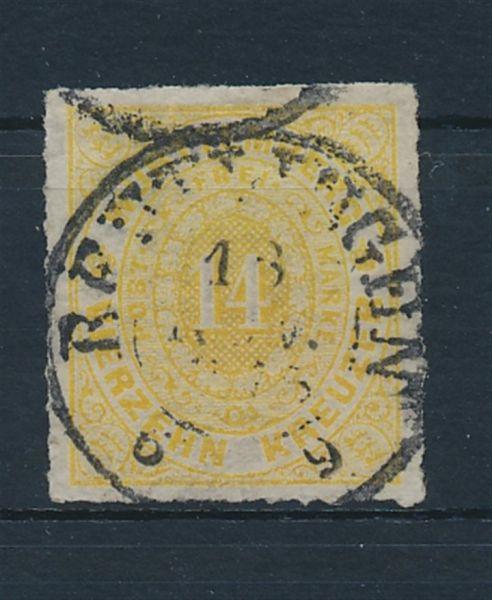 Württemberg Mi.Nr.41 b gestempelt Kab Fotoattest BPP