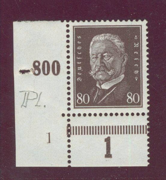 Deutsches Reich Mi.Nr.422 Pl.Nr. ** Fotobefund BPP