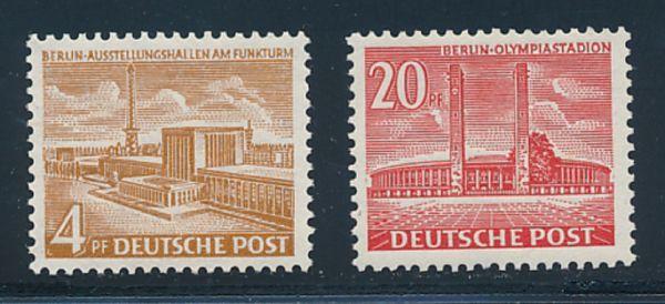 Berlin Mi.Nr.112-13 ** postfrisch