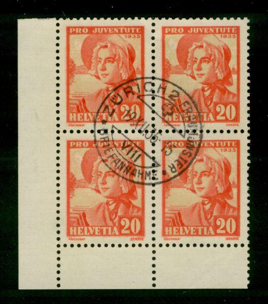 Schweiz Mi.Nr.289 zentrisch gestempelt