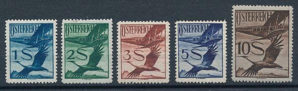 Österreich Mi.Nr.483-87 ** postfrisch