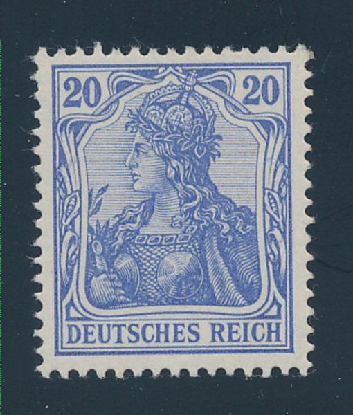 Deutsches Reich Mi.Nr.72 b ** Luxus Fotoattest BPP