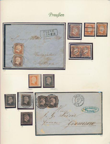 Preussen Klassesammlung mit tollen Werten und Briefen