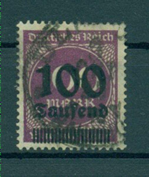Deutsches Reich Mi.Nr. 289 a gestempelt geprüft