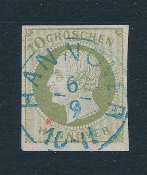 Hannover Mi.Nr.18 gestempelt Fotobefund BPP (1700.-EU)