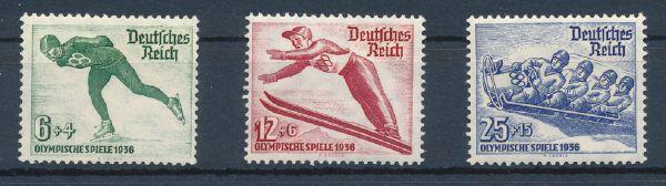 Deutsches Reich Mi.Nr.600-02 ** postfrisch geprüft