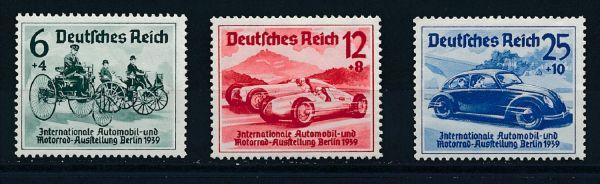 Deutsches Reich Mi.Nr.686-88 ** postfrisch