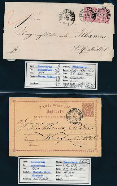 Braunschweig Nachverwendungen Umfangreiche Sammlung