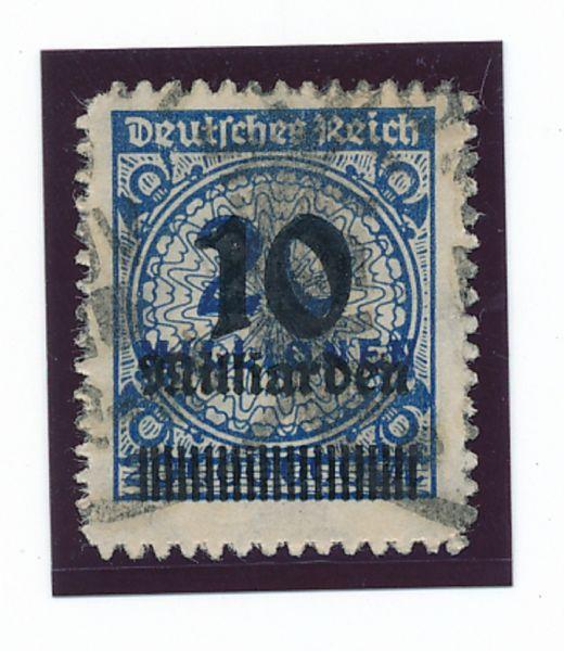 Deutsches Reich Mi.Nr.335 B gestempelt geprüft