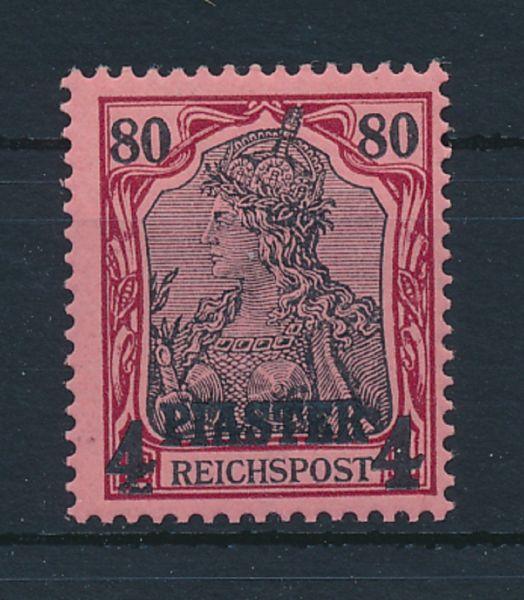 Deut.Post Türkei Mi.Nr.V postfrisch Lux Fotoattest BPP