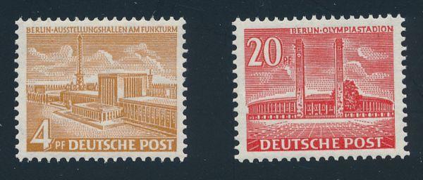 Berlin Mi.Nr.112-13 ** postfrisch geprüft