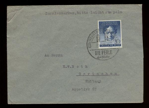 Berlin Mi.Nr.87 Einzelfrankatur nach Holland