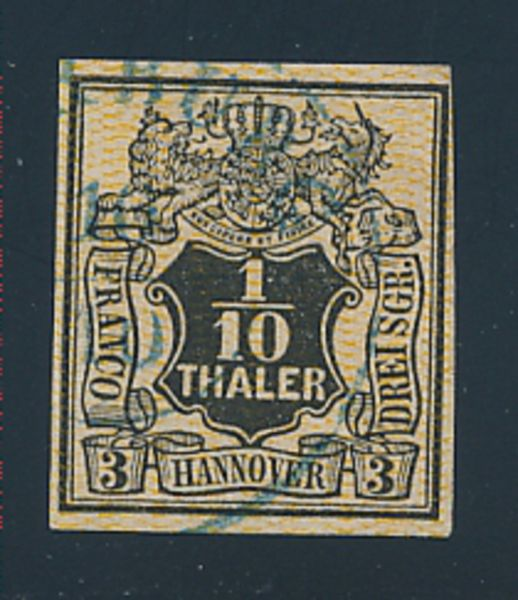 Hannover Mi.Nr.7aIII gestempelt Lux Fotobefund BPP