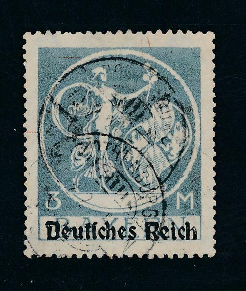 Deutsches Reich Mi.Nr.134 II gestempelt Lux Fotob BPP