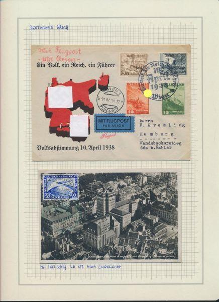 Deutsches Reich 1932-1944 Tolle Belegesammlung