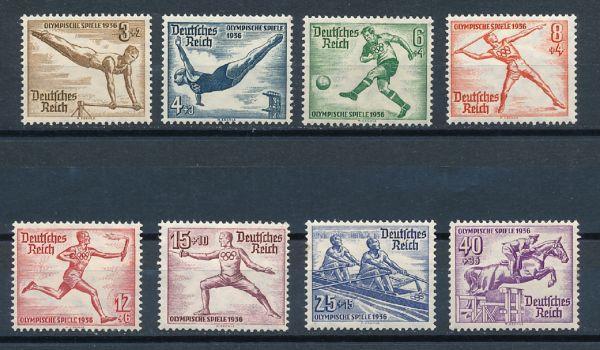 Deutsches Reich Mi.Nr.609-16 ** postfrisch