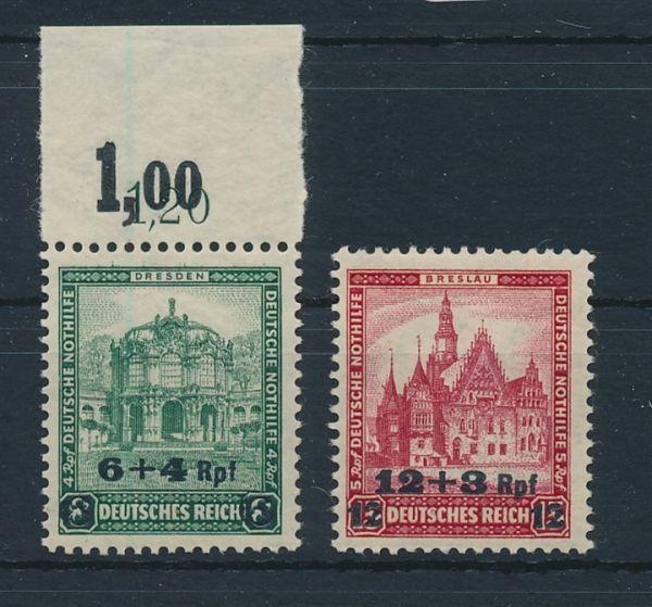 Deutsches Reich Mi.Nr.463-64 ** postfrisch