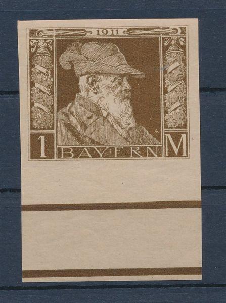 Bayern Mi.Nr.86 II U ** postfrisch Lux Fotoattest BPP