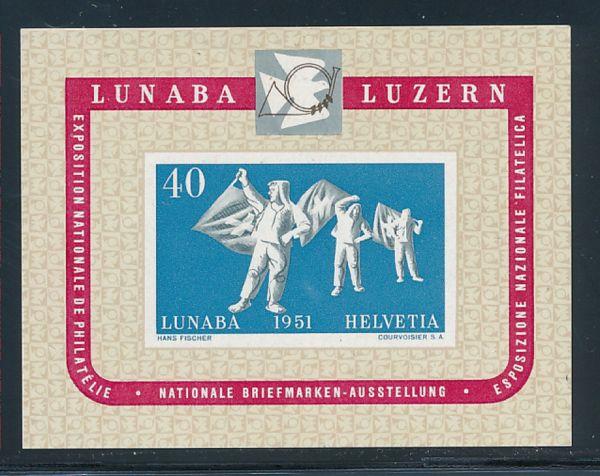 Schweiz Block 14 ** postfrisch Luxus Fotobefund