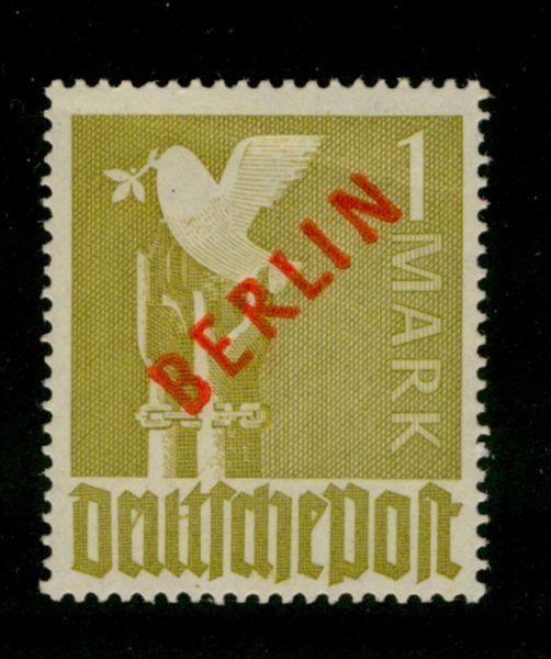 Berlin Mi.Nr.33 VII ** postfrisch geprüft (1800.-)