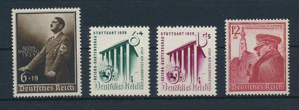 Deutsches Reich Mi.Nr.691,692-93+701 ** (55.-)