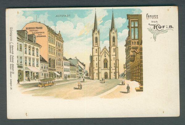 Hof Litho Heinrich Poland Papier und Spielwaren