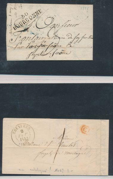 Frankreich Sammlung mit Vorphila Belegen