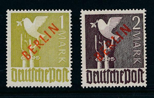 Berlin Mi.Nr.33 +34 ** Luxus Fotoattest BPP