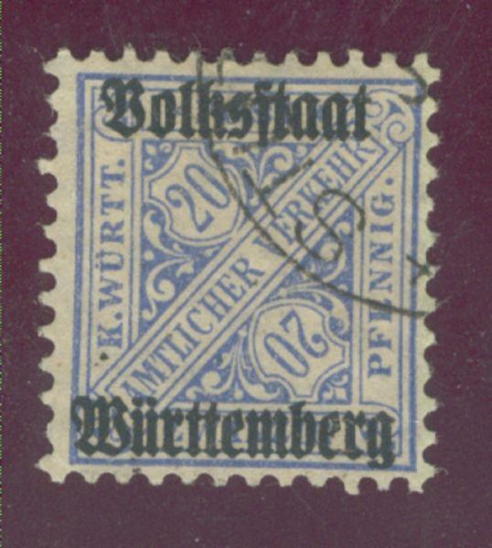 Württemberg Mi.Nr. 264 d gestempelt Fotobefund BPP