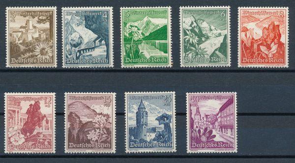 Deutsches Reich Mi.Nr.675-83 ** postfrisch